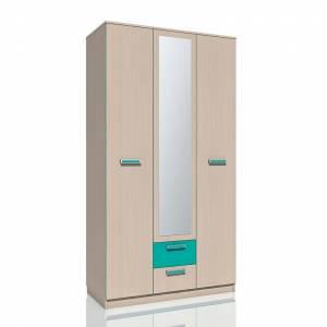 Шкаф комбинированный НМ 013.08-01 РИКО (Аква)
