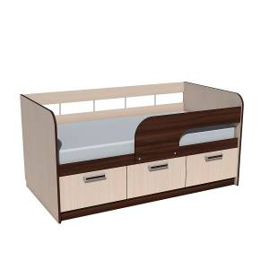 Кровать 800 НМ 039.03 РИКО (Венге)