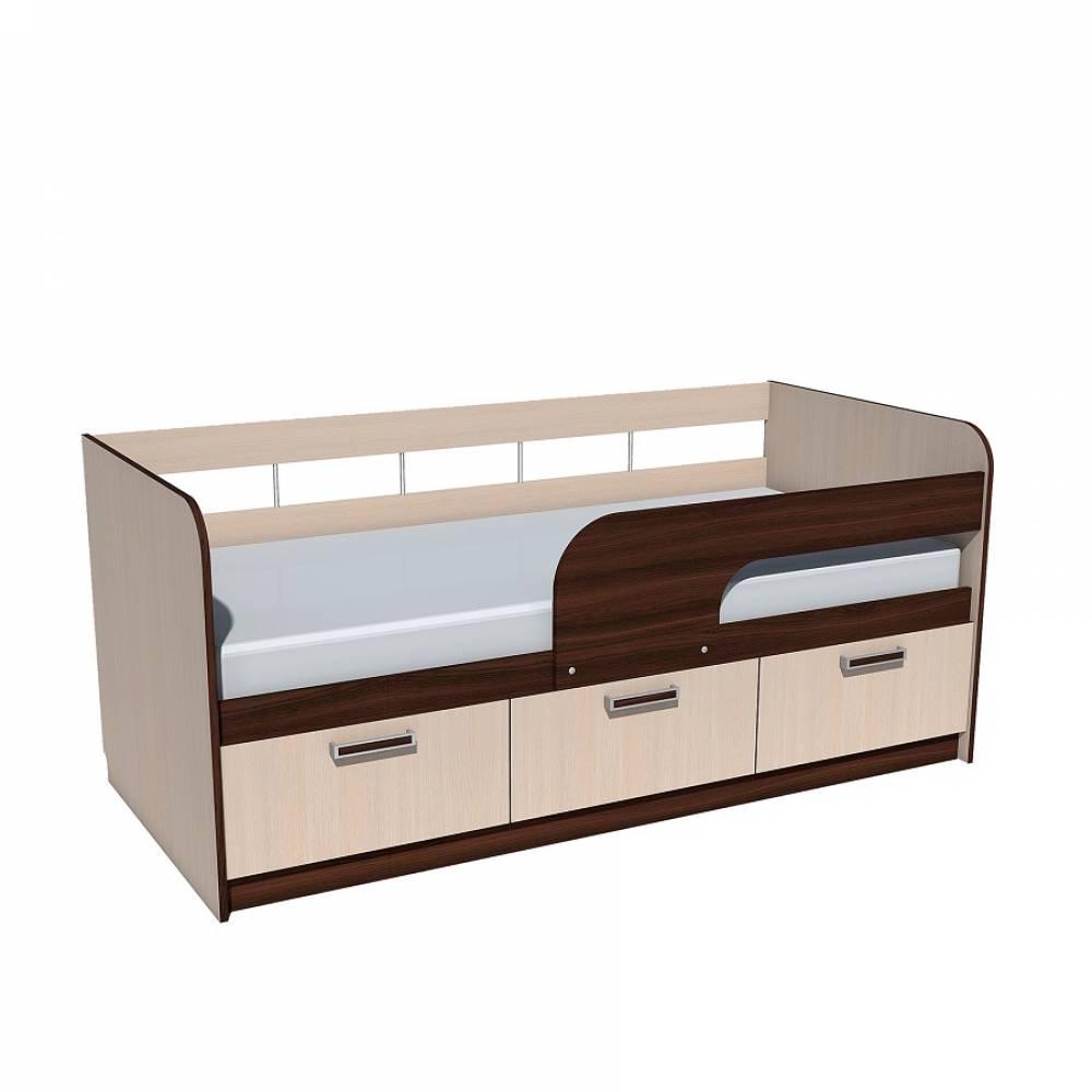 Кровать 800 НМ 039.04 РИКО (Венге)