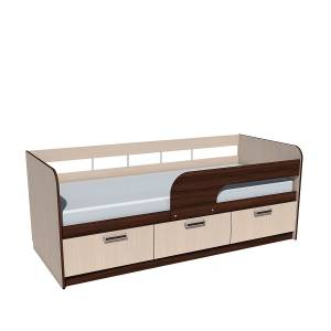 Кровать 800 НМ 039.05 РИКО (Венге)