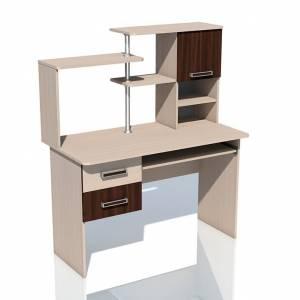 Компьютерный стол НМ 011.77 РИКО (Венге)