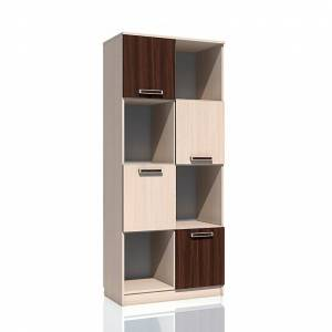 Шкаф для книг НМ 009.06 РИКО (Венге)