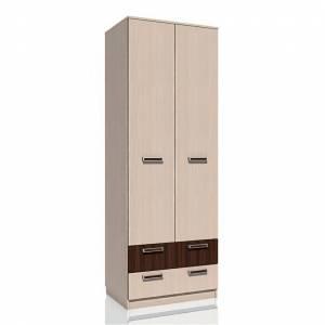 Шкаф для одежды с ящиками НМ 013.02-03 РИКО (Венге)
