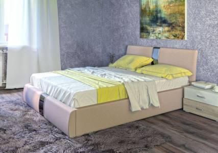 Каркас кровати 1600 ЧЕЛСИ (Гранд Натурель)