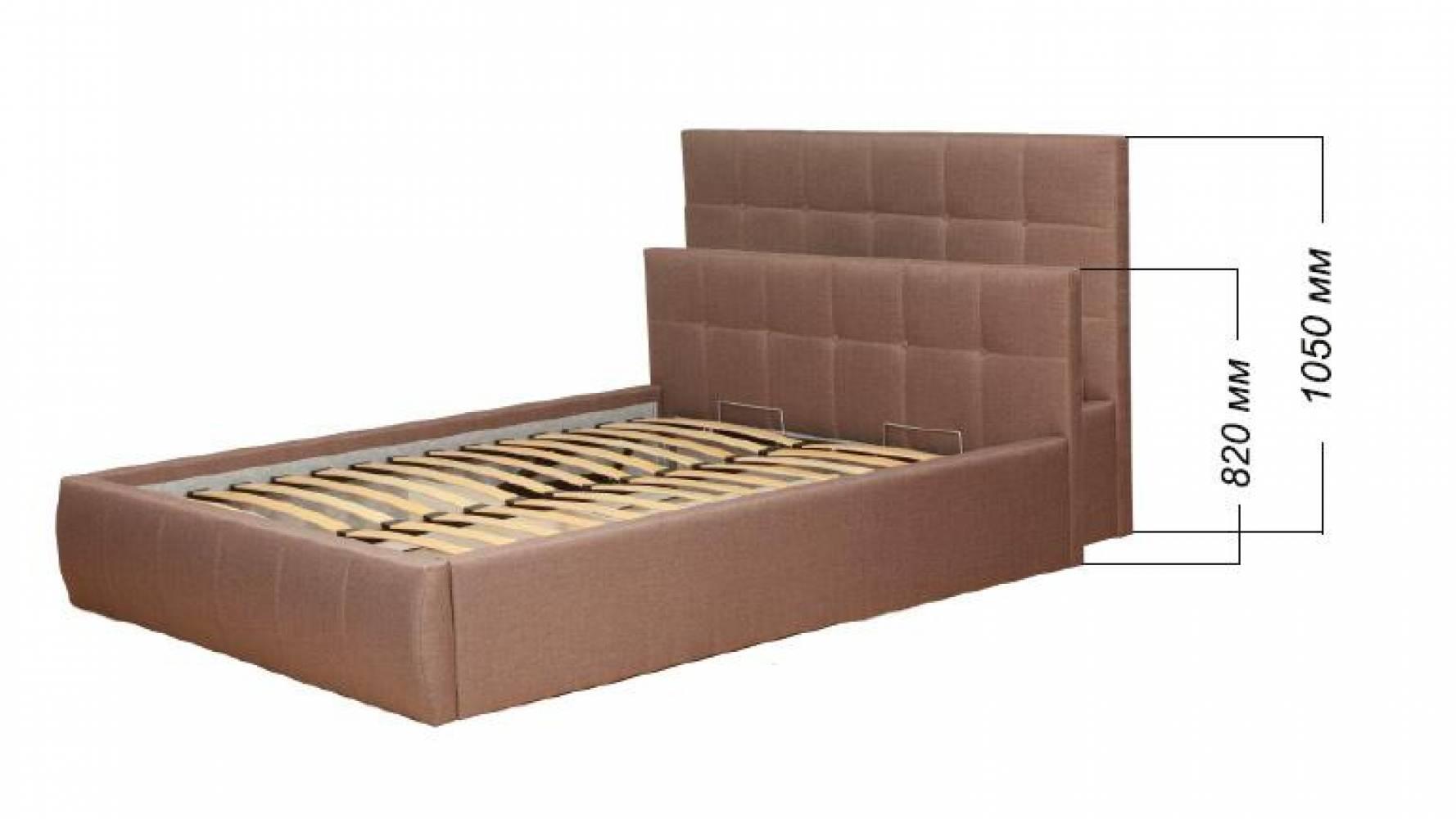 Кровать 1400 ДИАНА с подъемным механизмом (Н=1050мм)