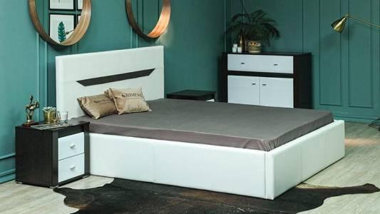 Кровать 1400 ИОЛАНТА с подъемным механизмом
