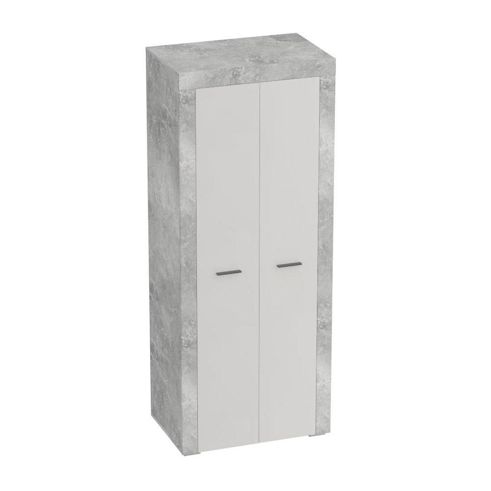 Шкаф для одежды ОСЛО (Бетон/Кашемир)