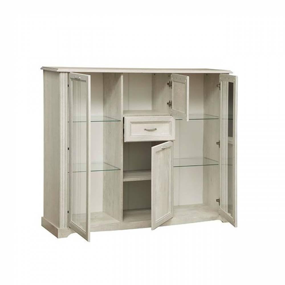 Шкаф комбинированный 32.07 СОХО (Бетон пайн белый)