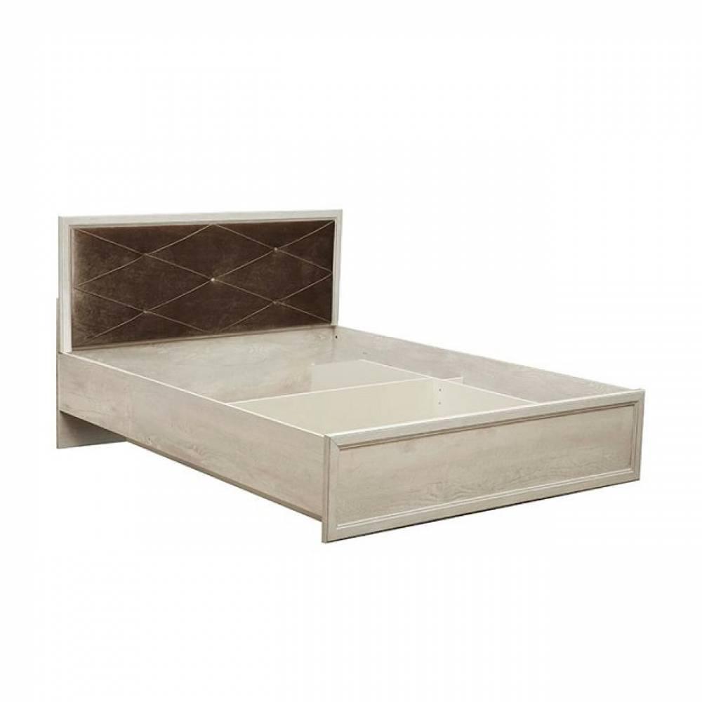 Кровать 1600 с подъемным механизмом 32.26 - 02 СОХО (Бетон пайн белый)