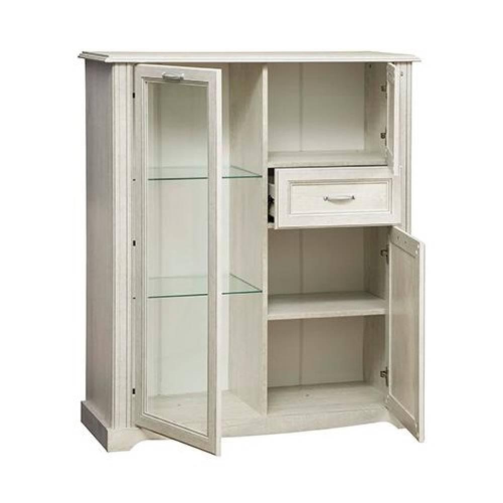 Шкаф комбинированный 32.09 СОХО (Бетон пайн белый)