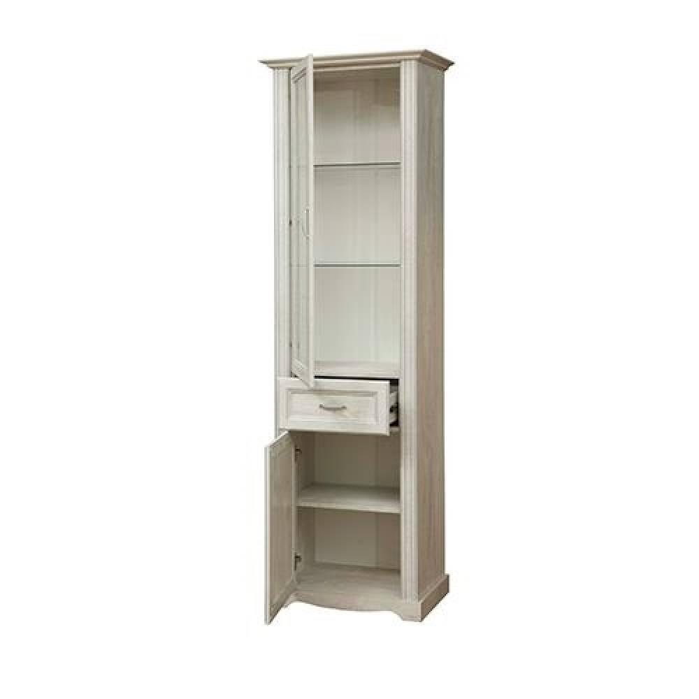 Шкаф - витрина 32.06 СОХО (Бетон пайн белый)