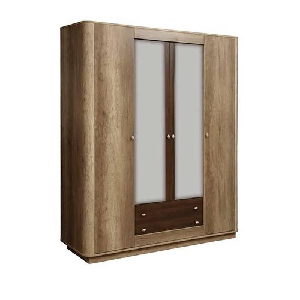 Шкаф для одежды 34.01 ФАНТАЗИЯ (Дуб каньон/Дуб кальяри)