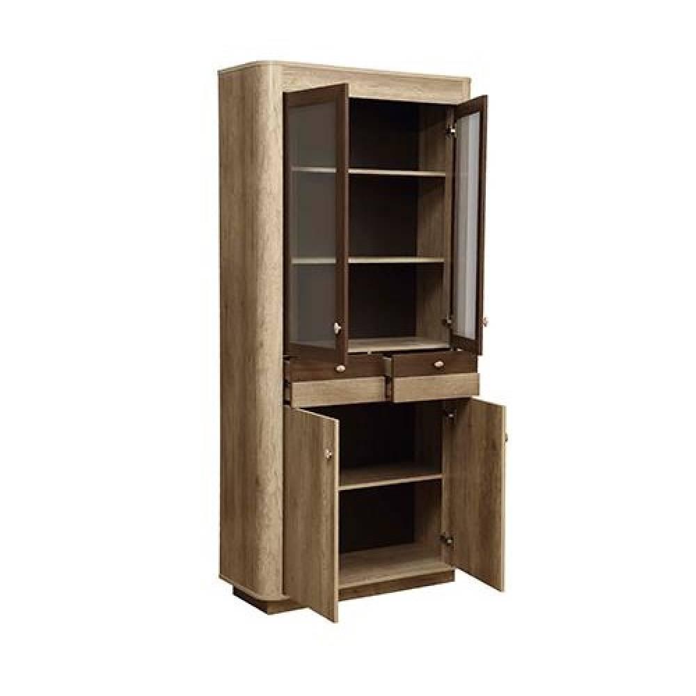 Шкаф комбинированный 34.05 ФАНТАЗИЯ (Дуб каньон/Дуб кальяри)