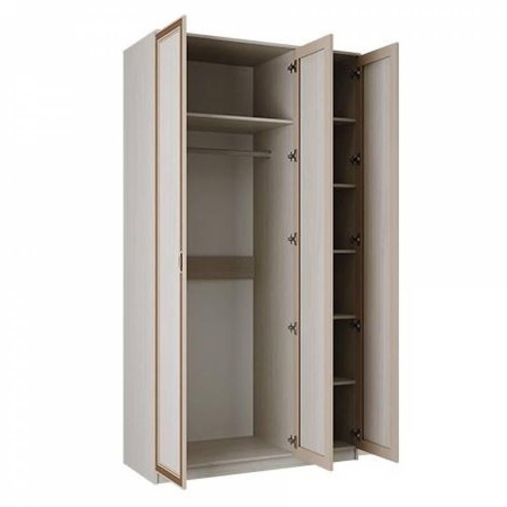 Корпус шкафа для одежды 06.56 МИНДАЛЬ (Вудлайн кремовый/Аруша венге)