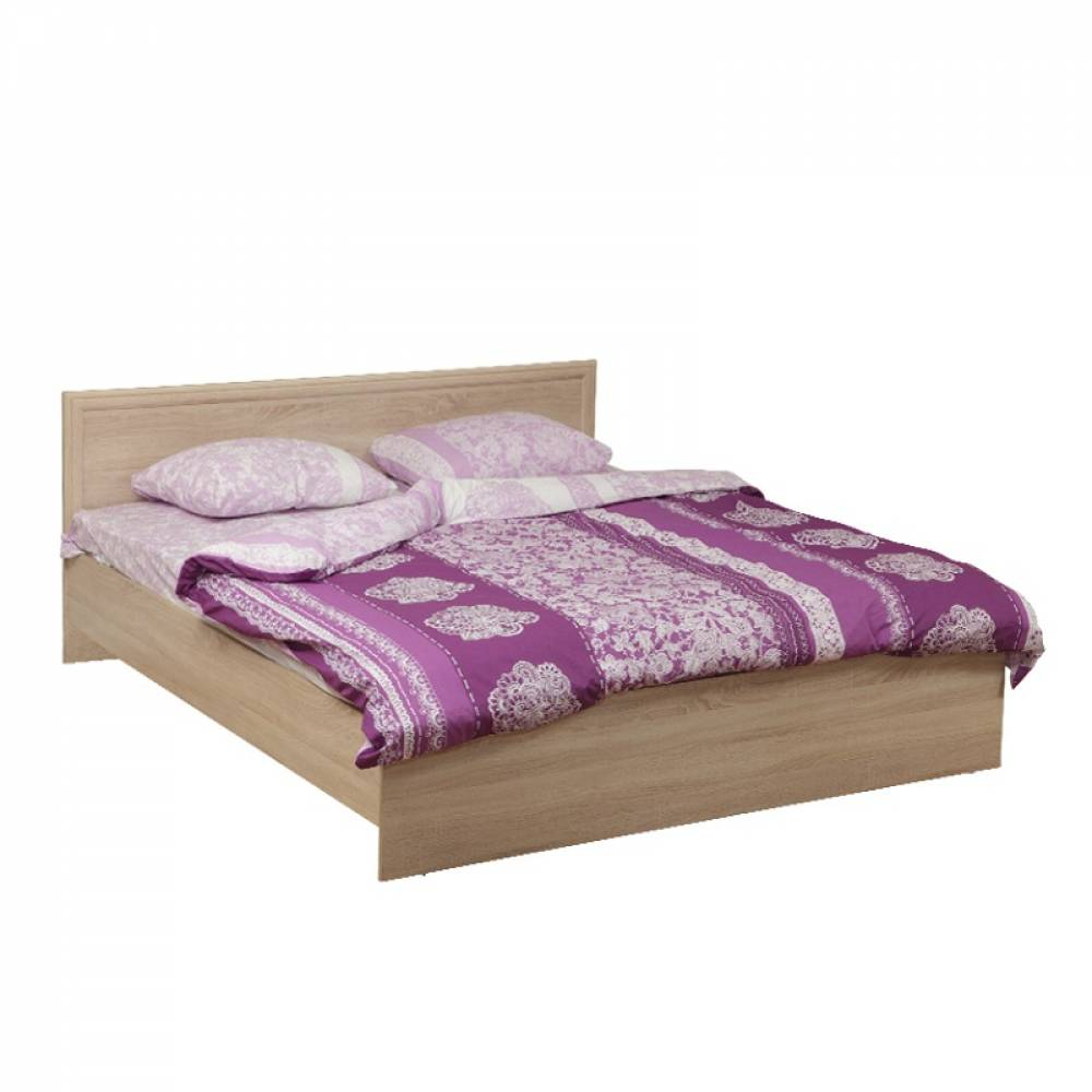 Кровать 1200 с настилом 21.52 - 02 ФРИЗ (Дуб Сонома)