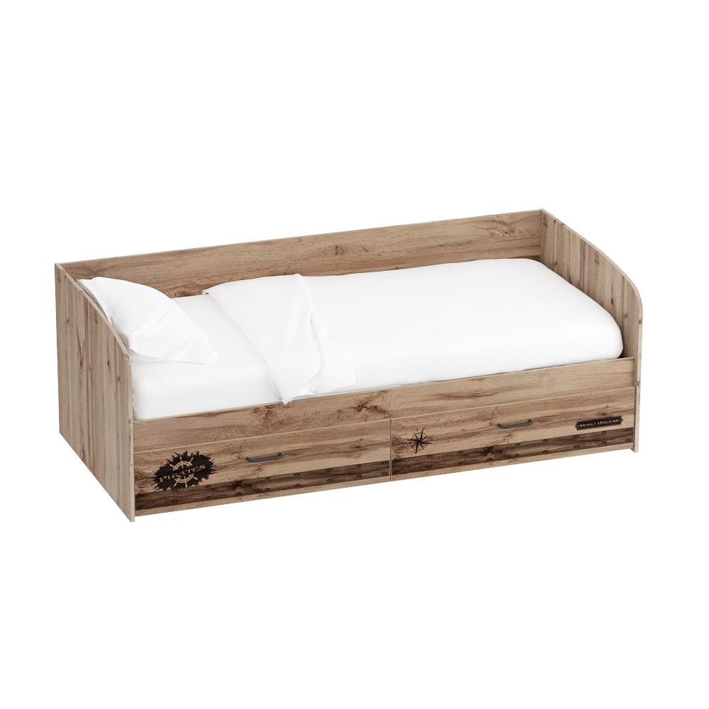 Кровать 900 ФРЕГАТ (Дуб Вотан)