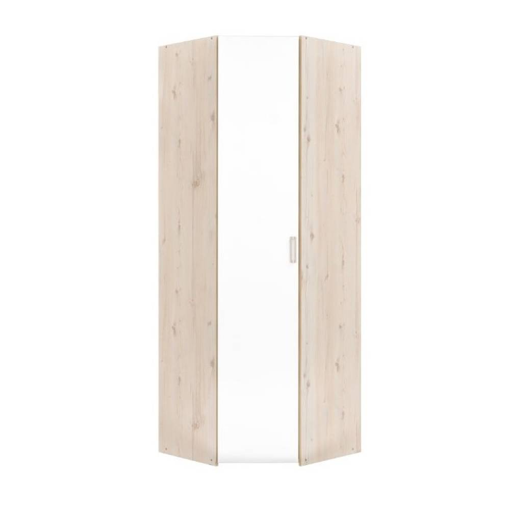 Шкаф для одежды 13.131 ВЕСТА (Гаскон Пайн светлый/Белый шагрень)