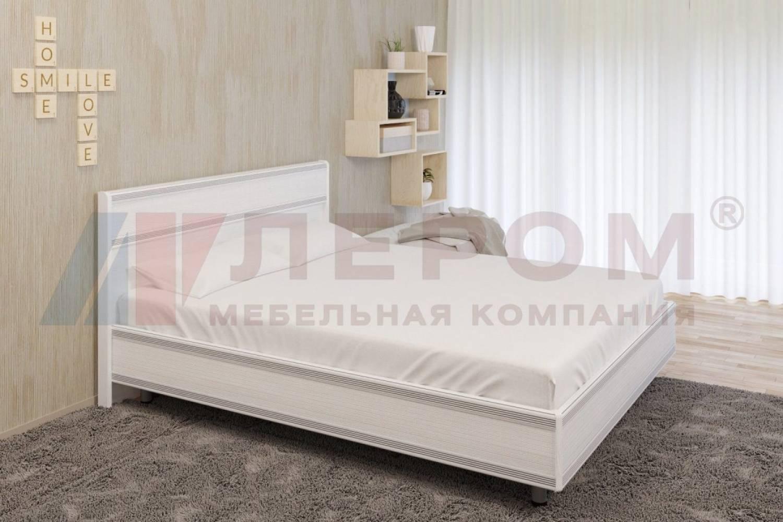 Кровать 1400 с ортопедическим основанием КР-2002 КАРИНА (Снежный ясень)