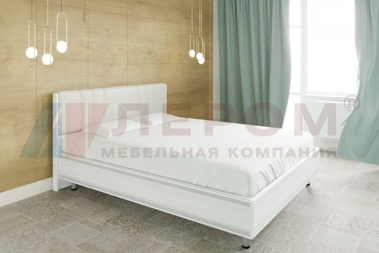 Кровать 1800 с ортопедическим основанием КР-2014 КАРИНА (Снежный ясень)