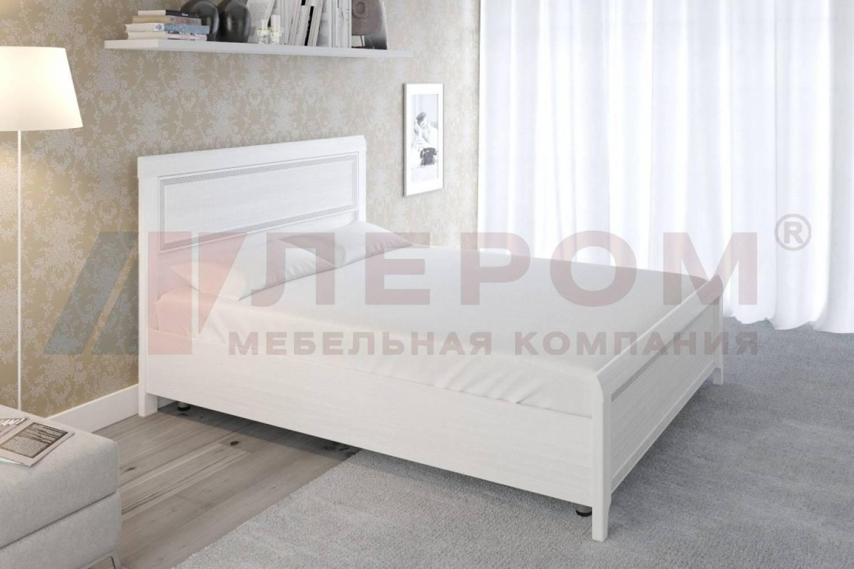Кровать 1600 с ортопедическим основанием КР-2023 КАРИНА (Снежный ясень)