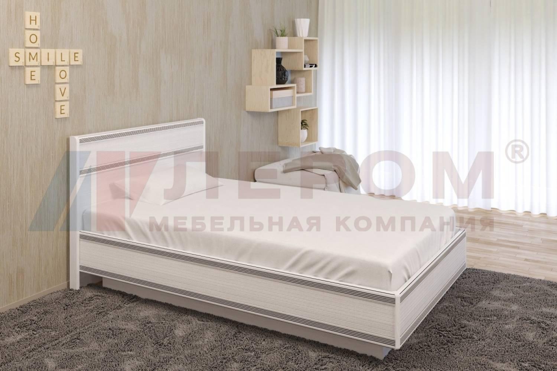 Кровать 1400 с подъемным механизмом КР-1002 КАРИНА (Снежный ясень)