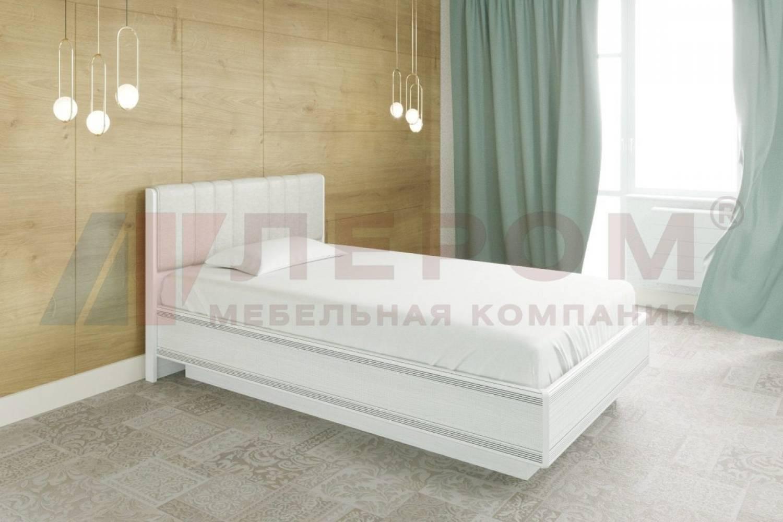 Кровать 1400 с подъемным механизмом КР-1012 КАРИНА (Снежный ясень)