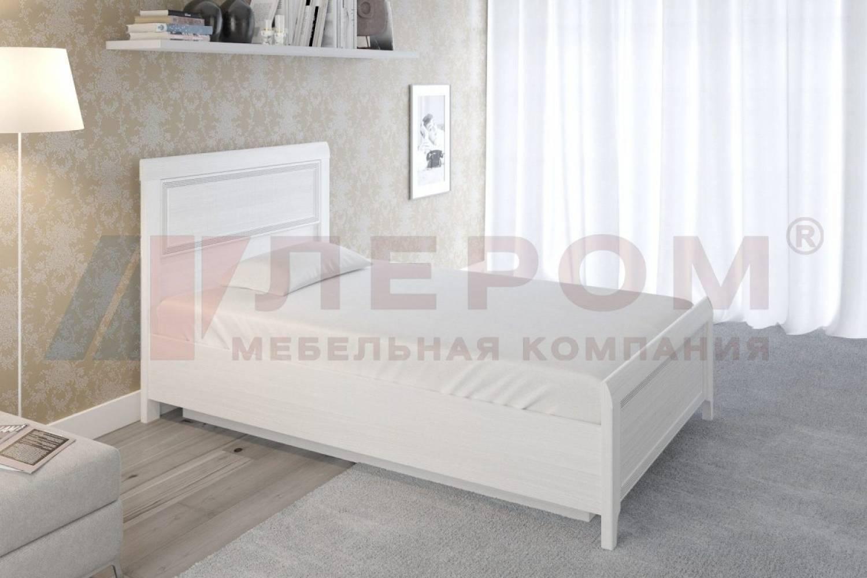 Кровать 1400 с подъемным механизмом КР-1022 КАРИНА (Снежный ясень)