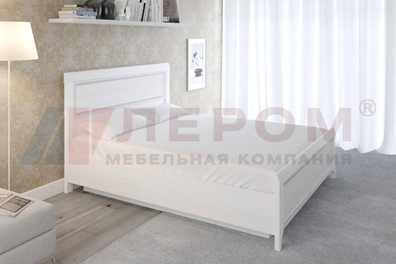 Кровать 1600 с подъемным механизмом КР-1023 КАРИНА (Снежный ясень)