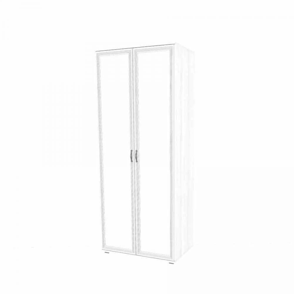 Шкаф для одежды и белья ШК-1008 КАРИНА (Снежный ясень)