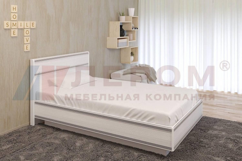 Кровать 1200 с подъемным механизмом КР-1001 КАРИНА (Снежный ясень)