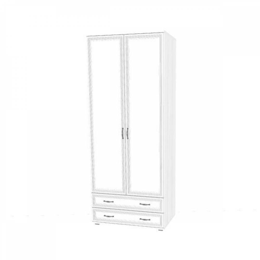 Шкаф для одежды и белья ШК-1005 КАРИНА (Снежный ясень)