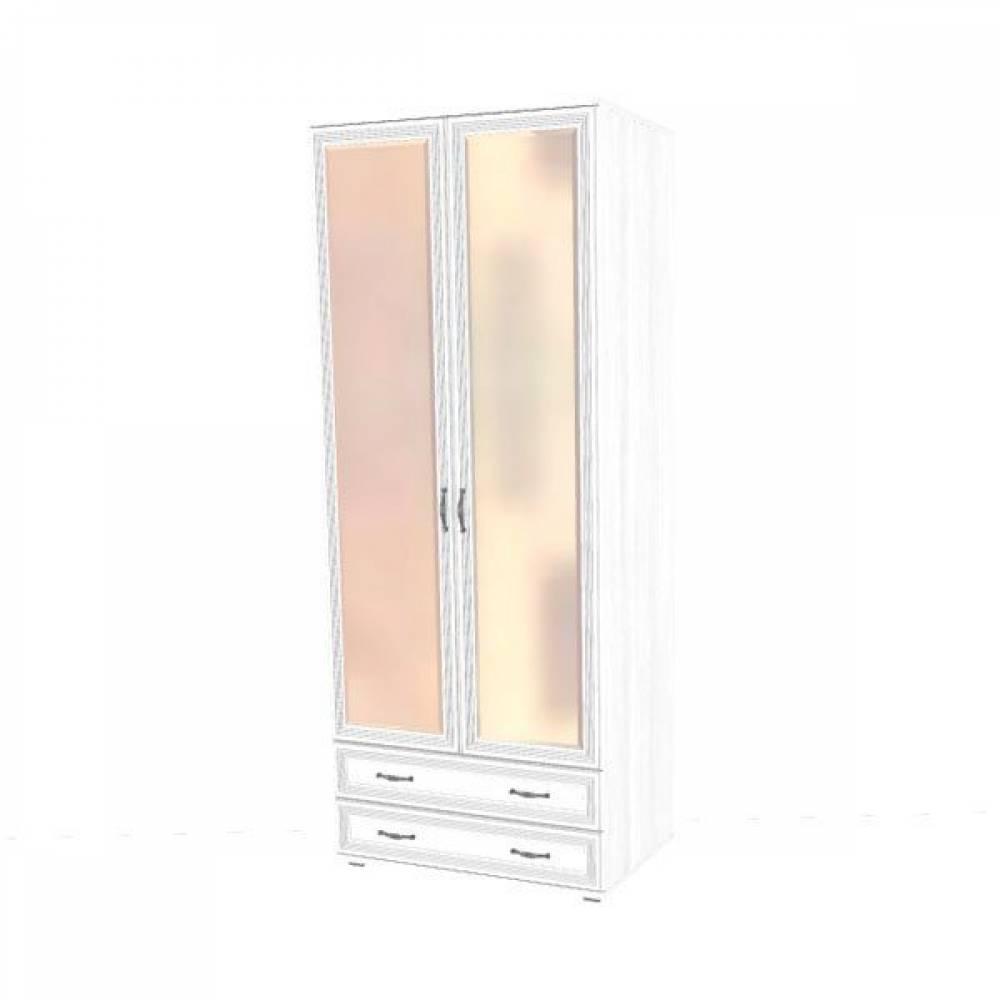 Шкаф для одежды и белья ШК-1007 КАРИНА (Снежный ясень)