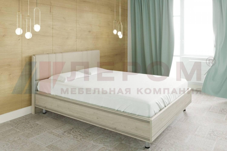 Кровать 1600 с ортопедическим основанием КР-2013 КАРИНА (Гикори Джексон светлый)