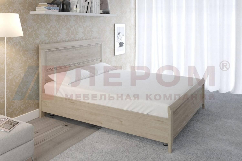 Кровать 1600 с ортопедическим основанием КР-2023 КАРИНА (Гикори Джексон светлый)