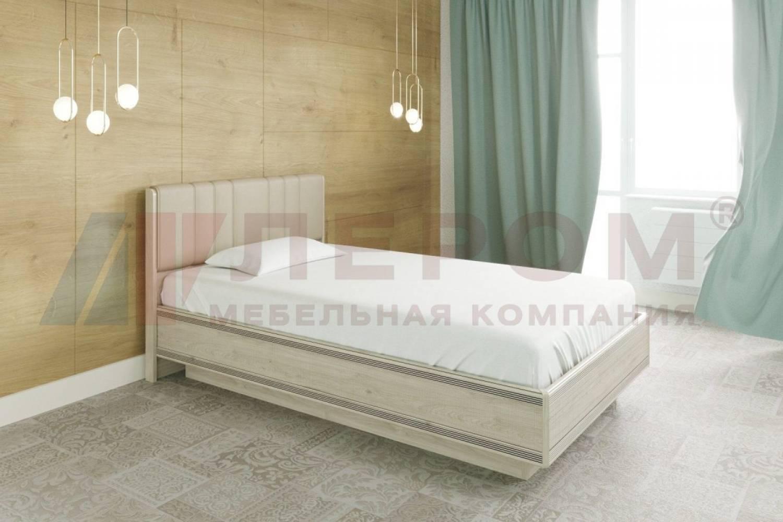 Кровать 1400 с подъемным механизмом КР-1012 КАРИНА (Гикори Джексон светлый)