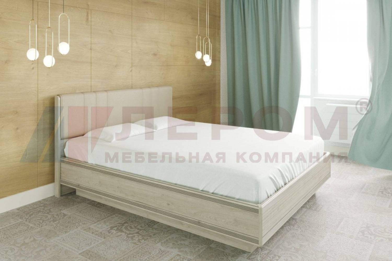 Кровать 1600 с подъемным механизмом КР-1013 КАРИНА (Гикори Джексон светлый)