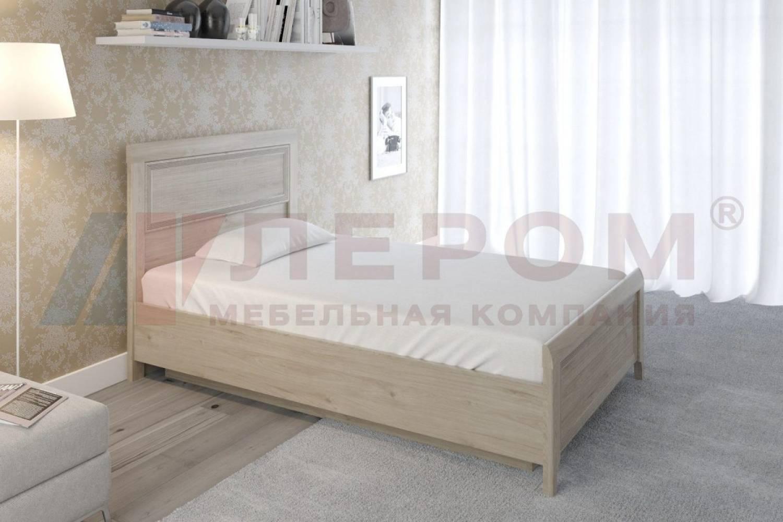 Кровать 1400 с подъемным механизмом КР-1022 КАРИНА (Гикори Джексон светлый)