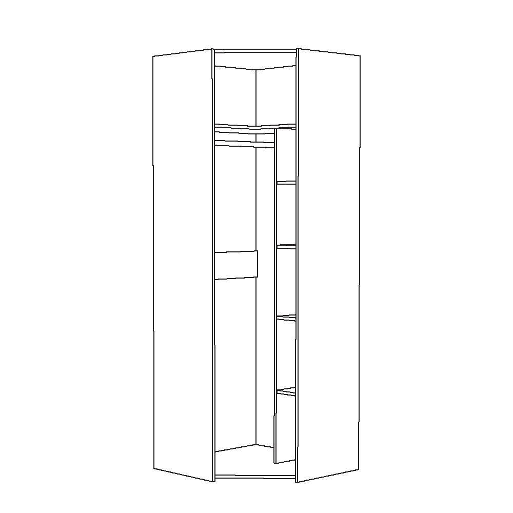 Шкаф для одежды 13.131 АМЕЛИ (Шелковый камень/Бетон Чикаго беж)