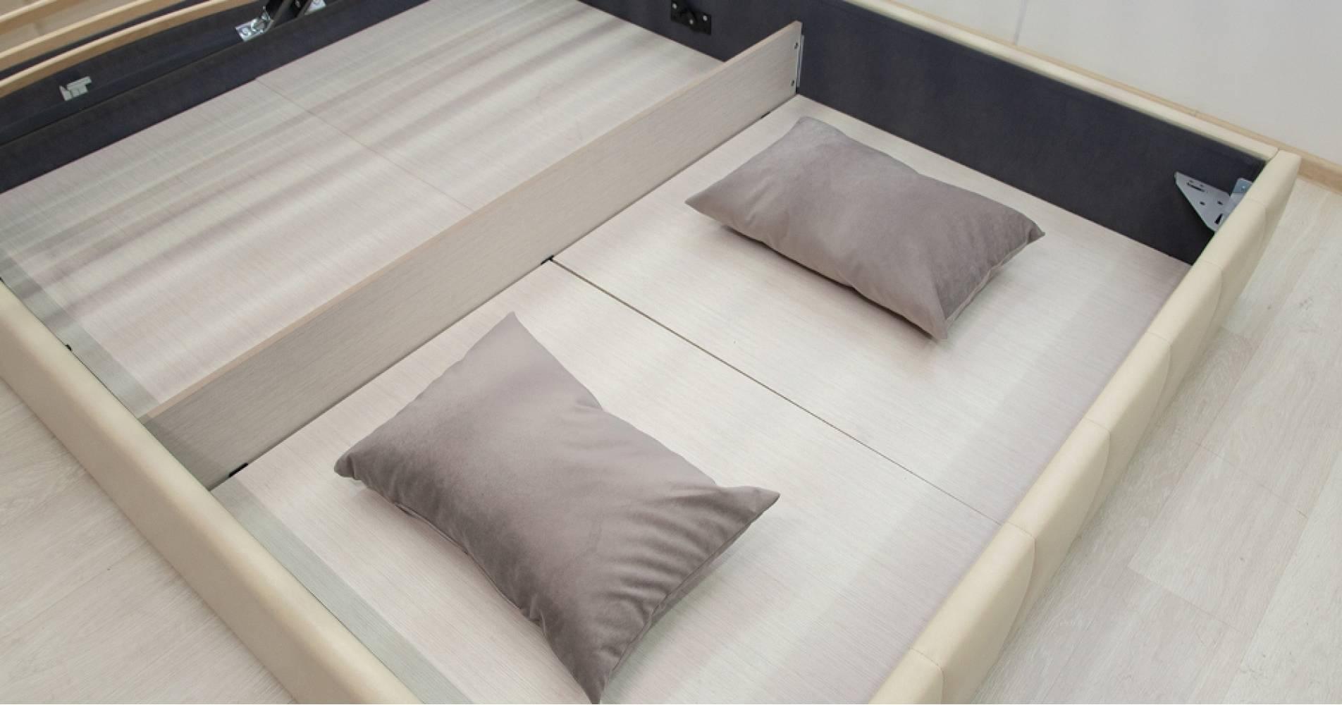 Дно кроватное 1600 Стандарт ЛДСП для кровати АВГУСТА (сливочный)