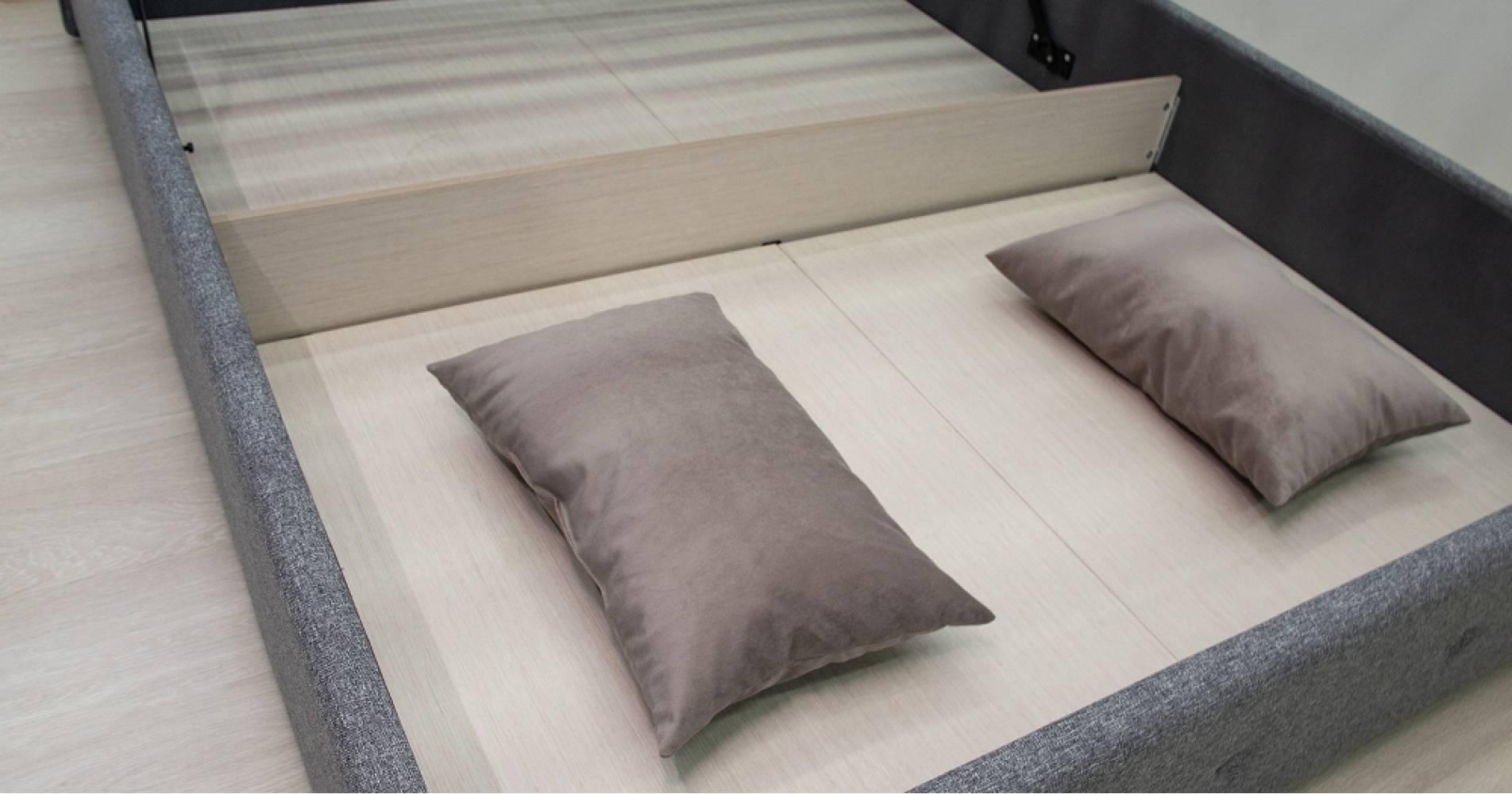 Дно кроватное 1600 Стандарт ЛДСП для кровати ИЛОНА (серый)