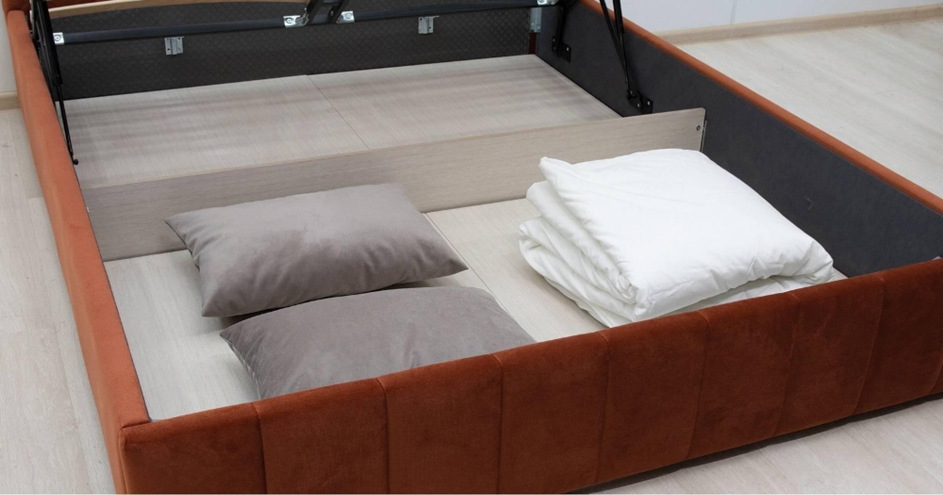 Дно кроватное 1600 Стандарт ЛДСП для кровати МИЛАНА (Лекко терра)