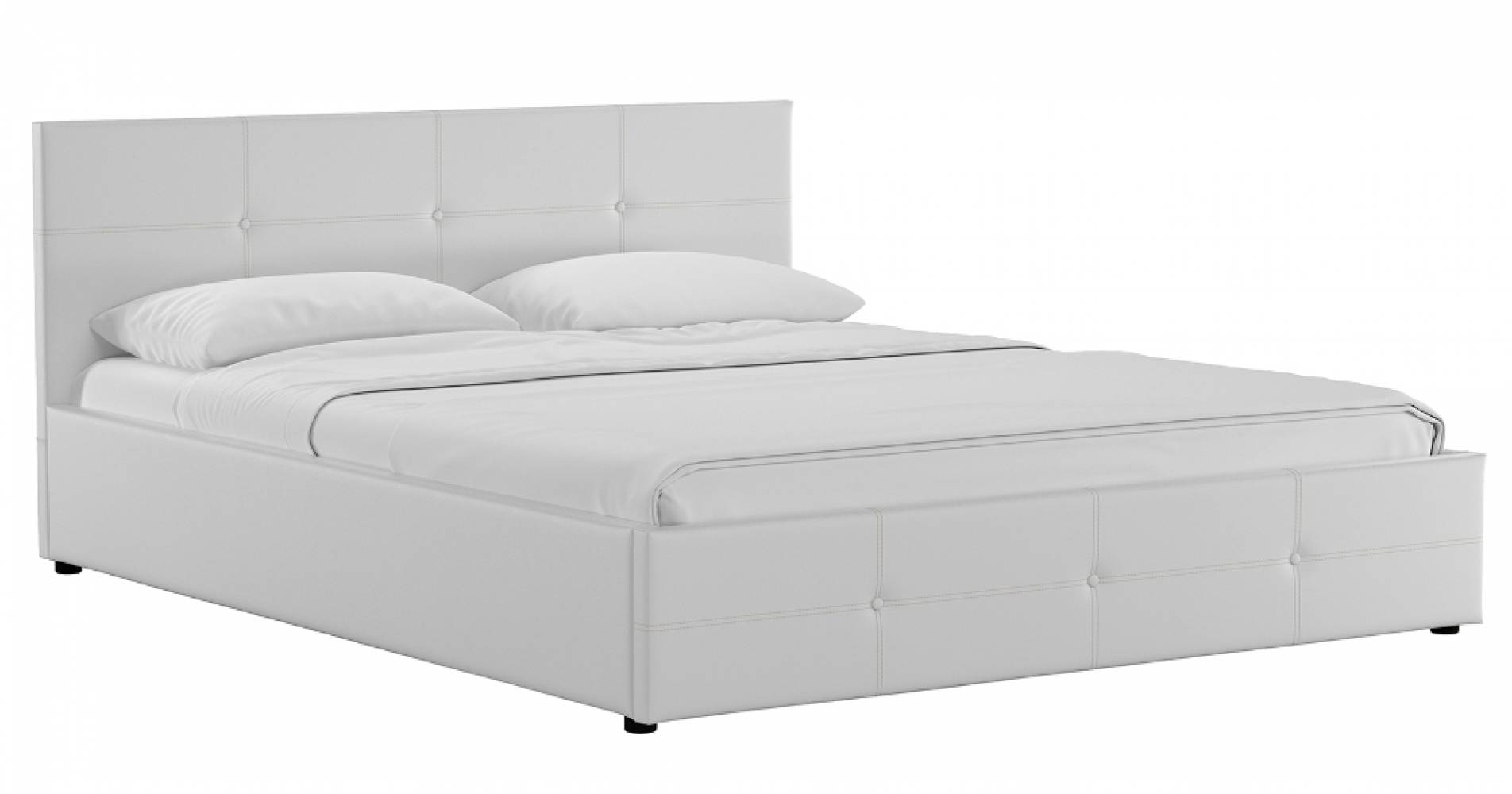 Каркас кровати 1600 СИНДИ (белый)