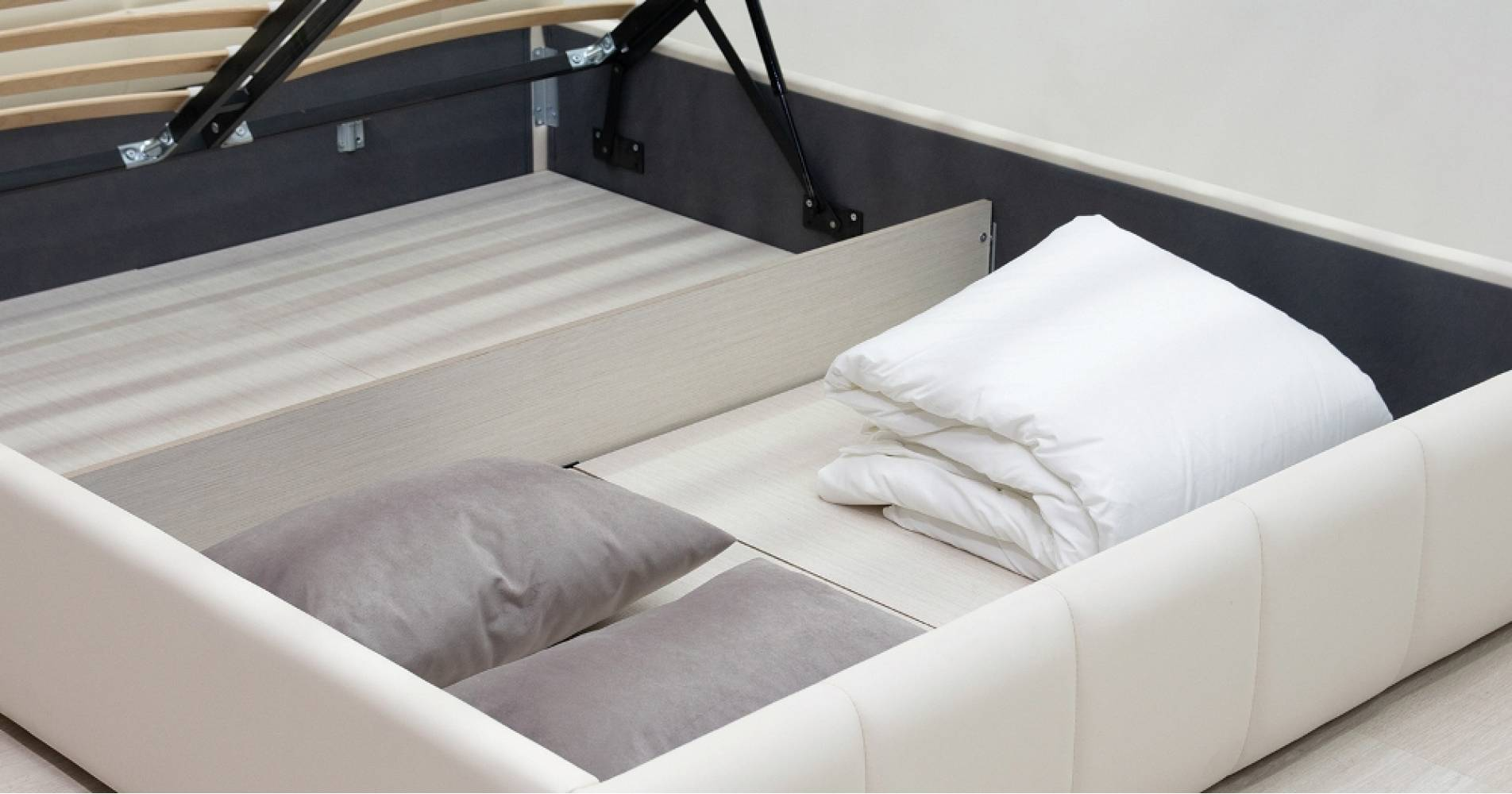 Дно кроватное 1600 Стандарт ЛДСП для кровати ХЛОЯ (капучино)