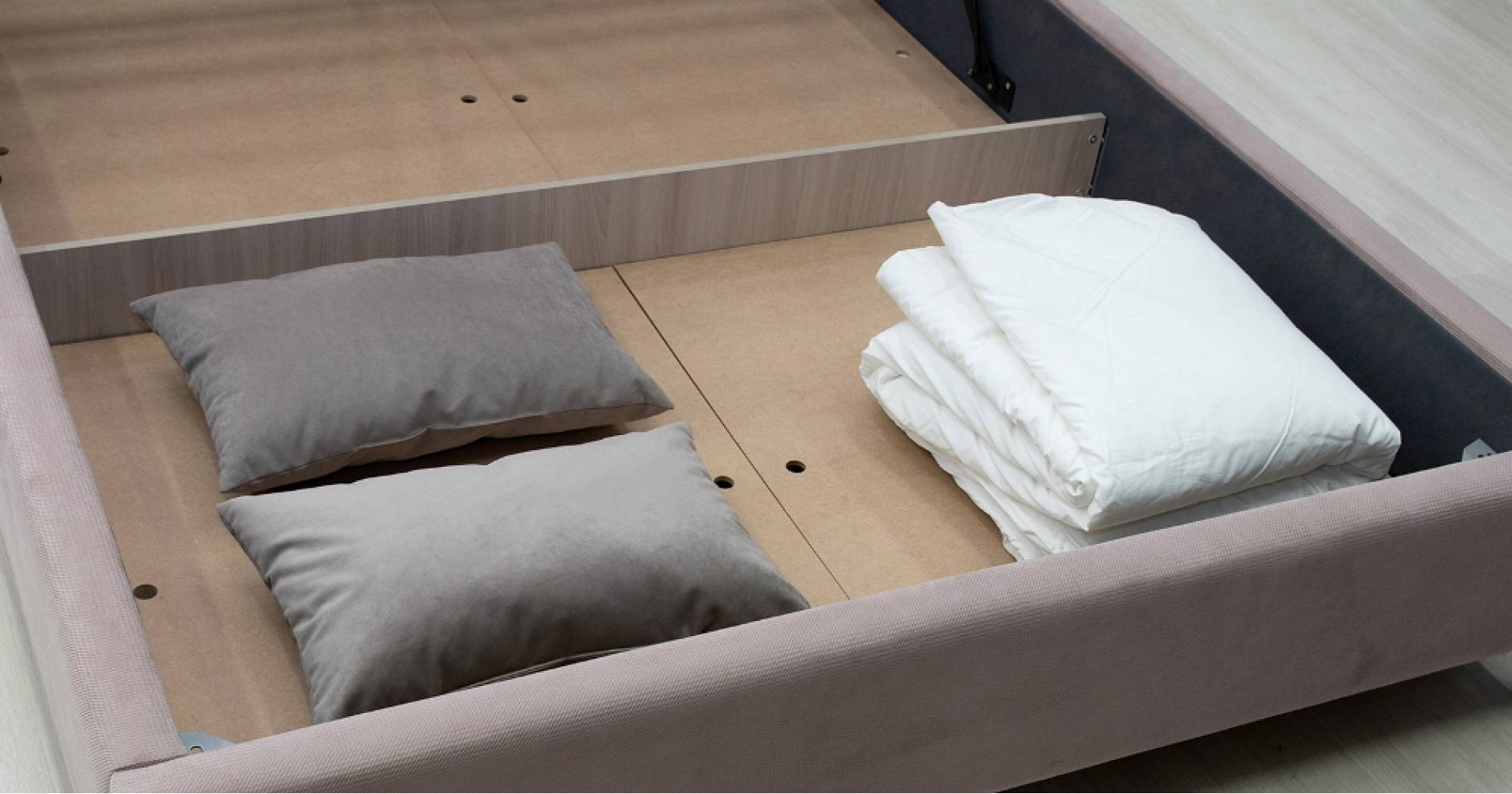 Дно кроватное 1600 МДФ для кровати МЕЛИССА (серо-синий)