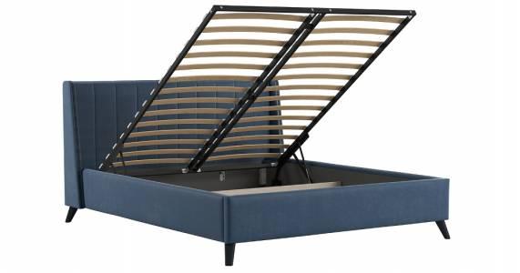 Механизм подъема основания 559 ГП для кровати 1600 МЕЛИССА (серо-синий)