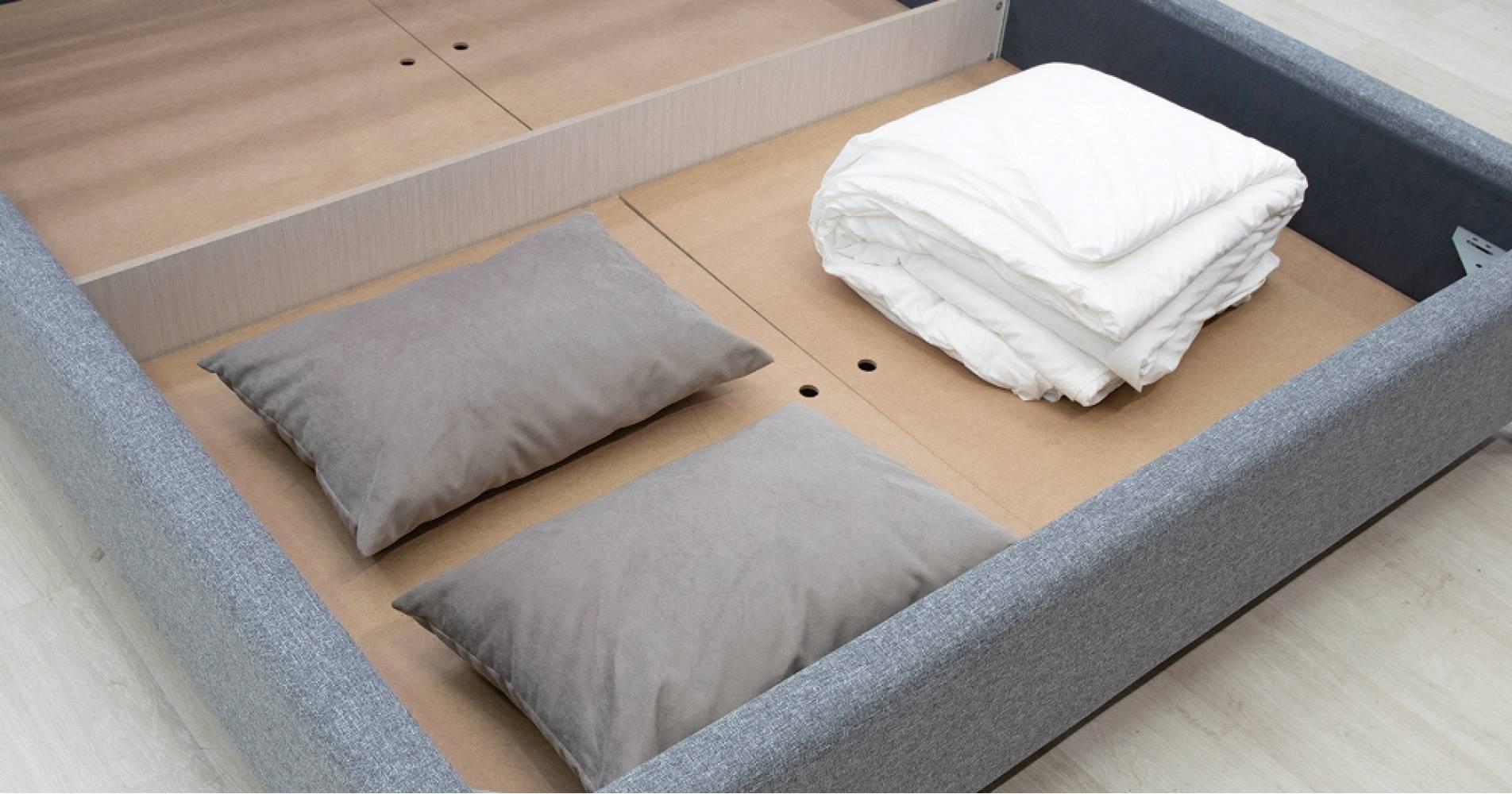 Дно кроватное 1600 МДФ для кровати ФАИНА (горчичный)