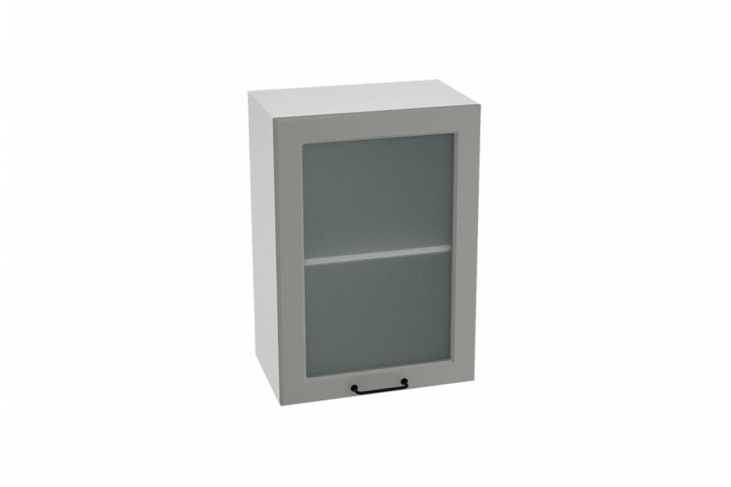Шкаф верхний со стеклом ШВС 500 НИЦЦА ROYAL (MAGNUM) 500 мм