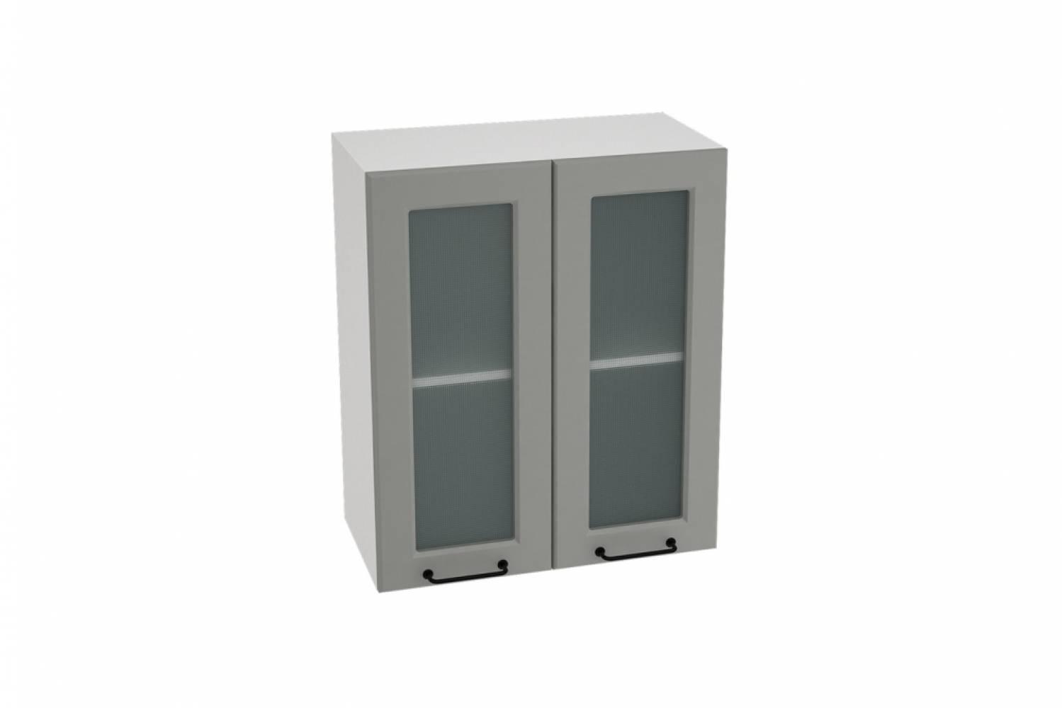 Шкаф верхний со стеклом ШВС 600 НИЦЦА ROYAL (MAGNUM) 600 мм