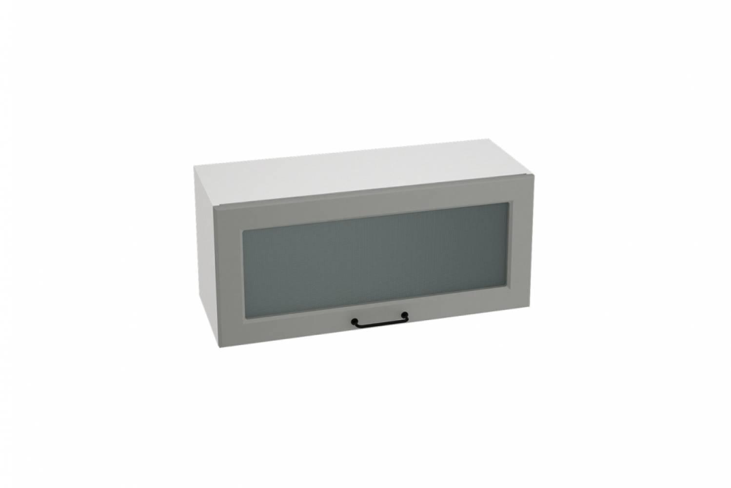 Шкаф верхний горизонтальный со стеклом ШВГС 800 НИЦЦА ROYAL (MAGNUM) 800 мм