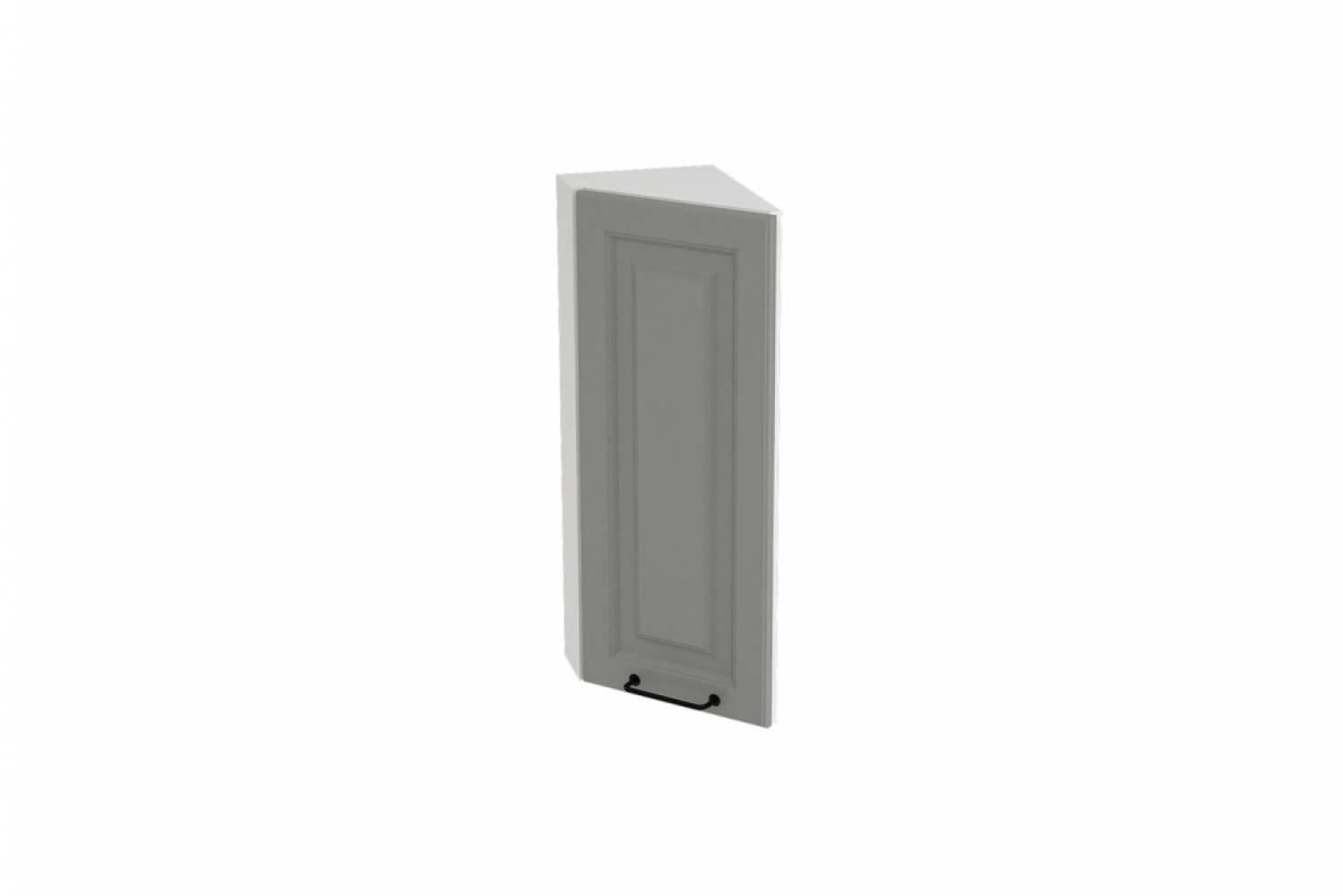 Шкаф верхний угловой торцевой ШВТ 224 НИЦЦА ROYAL (MAGNUM) 224 мм